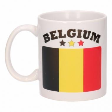 Belgische vlag theebeker