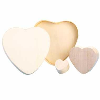 Beschilderbaar doosje in hartvorm