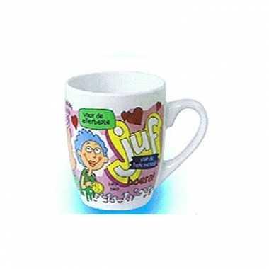 Beste juf koffie of thee beker