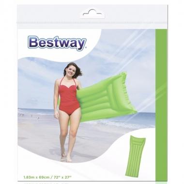 Bestway basic luchtbed groen 183 cm