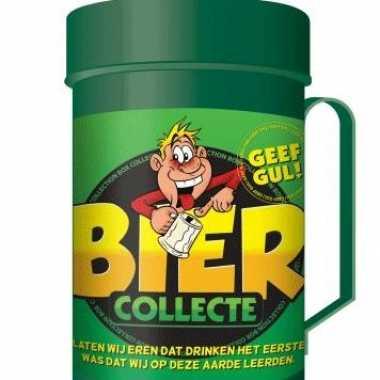 Bier collectebussen