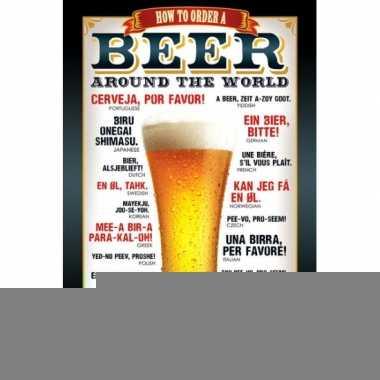 Bier poster