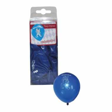 Bierfeest ballonnen bayern 12 stuks