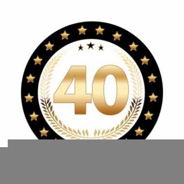Bierviltjes 40 jaar robijn jubileum