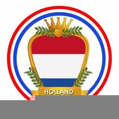 Bierviltjes in hollands wapen thema