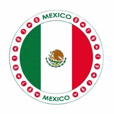 Bierviltjes in mexicaans thema