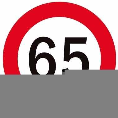 Bierviltjes verjaardag 65 jaar