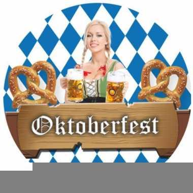 Bierviltjes voor een oktoberfest 100x stuks