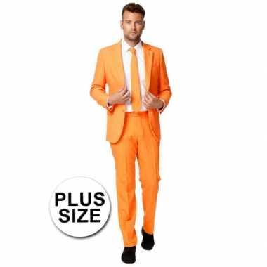 Big size business pak oranje