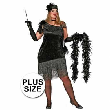 Big size charleston jurkje voor dames