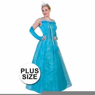 Big size elsa jurk voor dames