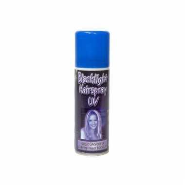 Blacklight hair spray