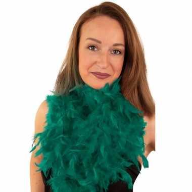 Boa smaragd groen 180 cm