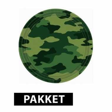 Camouflage feestpakket