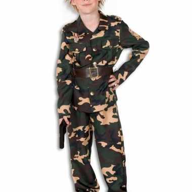 Camouflage pak voor jongens en meiden