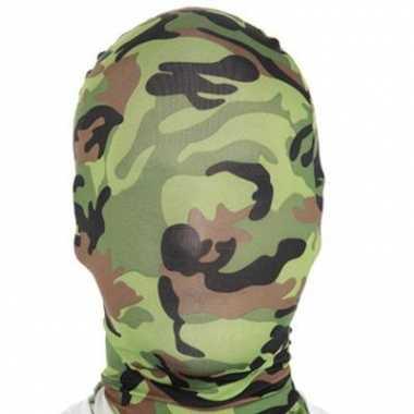 Camouflage second skin masker