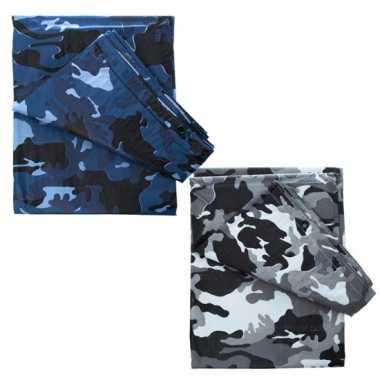 Camouflage zeilen 6 x 3,5 m