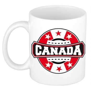 Canada embleem mok / beker 300 ml