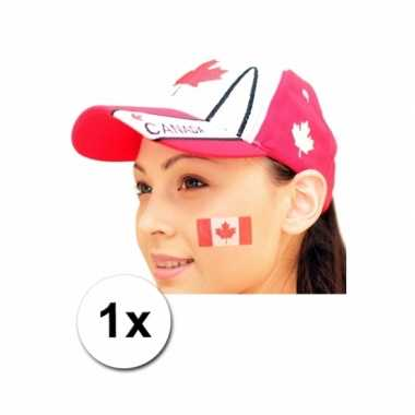 Canada vlag tattoeage
