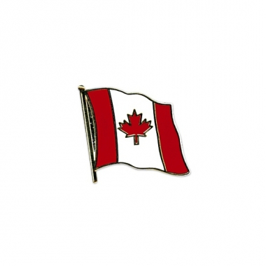 Canadese vlaggetjes pins