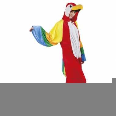 Canaval onesie papegaai dames