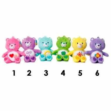 Care bear knuffel geel 25 cm