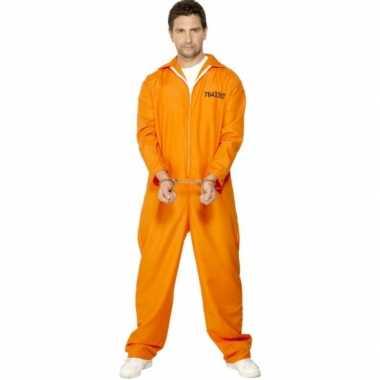 Carnaval boevenpak oranje