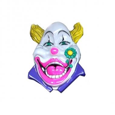 Carnaval clown versiering wit