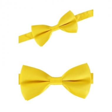 Carnaval feest strikje geel