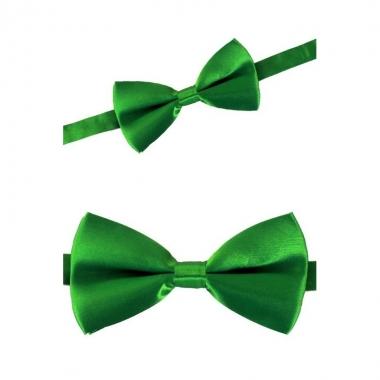 Carnaval feest strikje groen