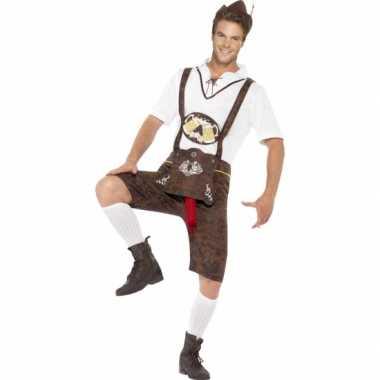 Carnaval grappig bierfeest worst kostuum