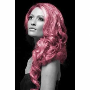 Carnaval haarverf roze