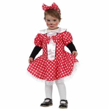 Carnaval muizen meisje kostuum peuters