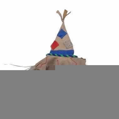 Carnaval verkleed hoedje vogelverschrikker