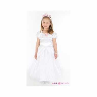 Carnaval verkleedkleding prinses wit meisjes