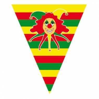 Carnaval vlaggenlijnen 5 meter