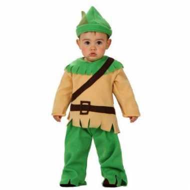 Carnavals kostuum robin hood voor babies