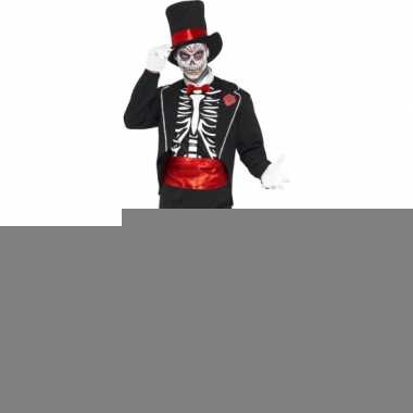 Carnavalskleding day of the dead voor heren