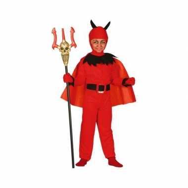 Carnavalskleding duivel voor kinderen