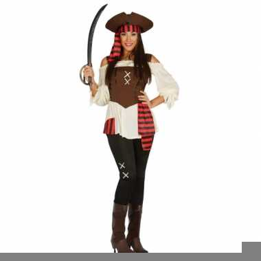 Carnavalskleding piraat dame