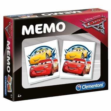 Cars memory spel voor jongens en meisjes