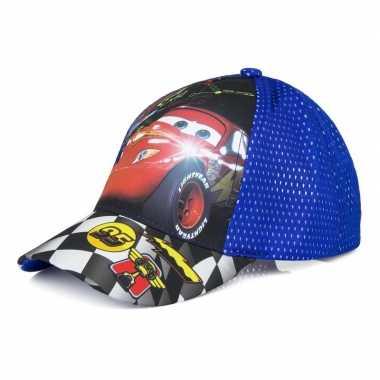 Cars pet/cap blauw voor kinderen