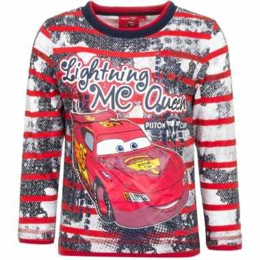 Cars t-shirt mc queen rood