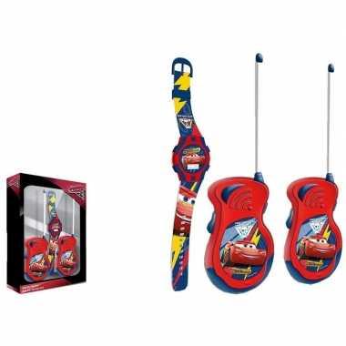 Cars walkie talkie speelgoed set voor jongens en meisjes