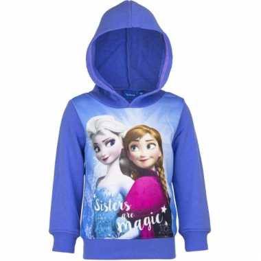 Cartoon sweater frozen paars