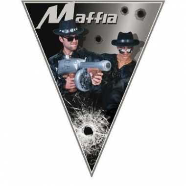 Casino thema vlaggenlijn maffia