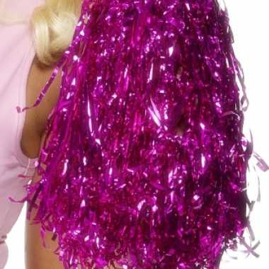 Cheerleader pompoms roze