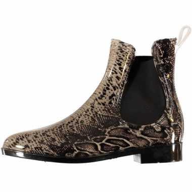 Chelsea boots regenlaarsjes slang voor dames