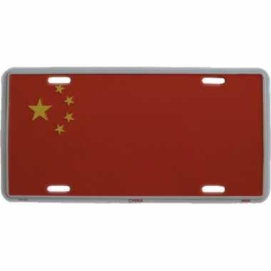 China decoratie bordje