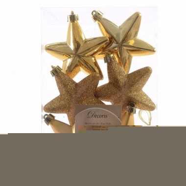 Chique christmas gouden kerstversiering sterren